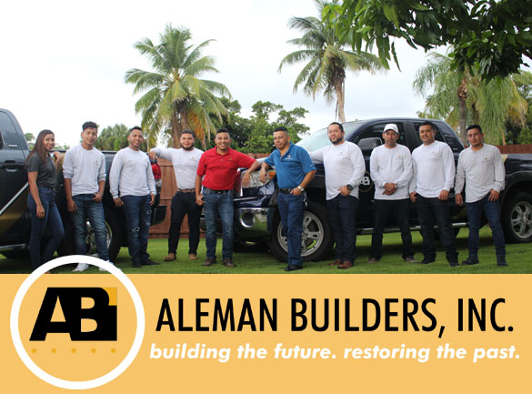 Aleman Builders. building the future. restoring the past | Naples, FL Contractors