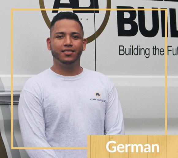Meet Aleman Builders Team Member German | Naples Florida Contractors