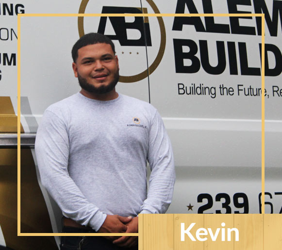 Meet Aleman Builders Team Member Kevin | Naples Florida Contractors