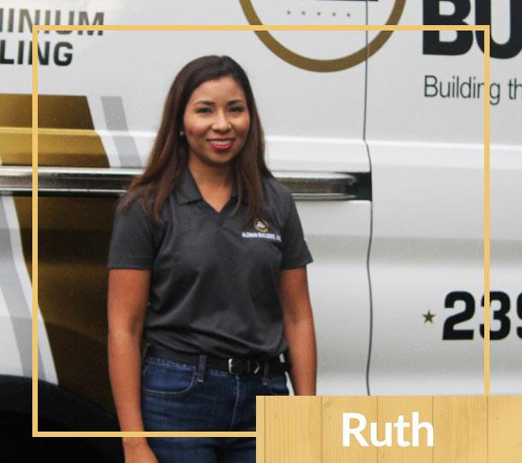 Meet Aleman Builders Team Member Ruth | Naples Florida Contractors