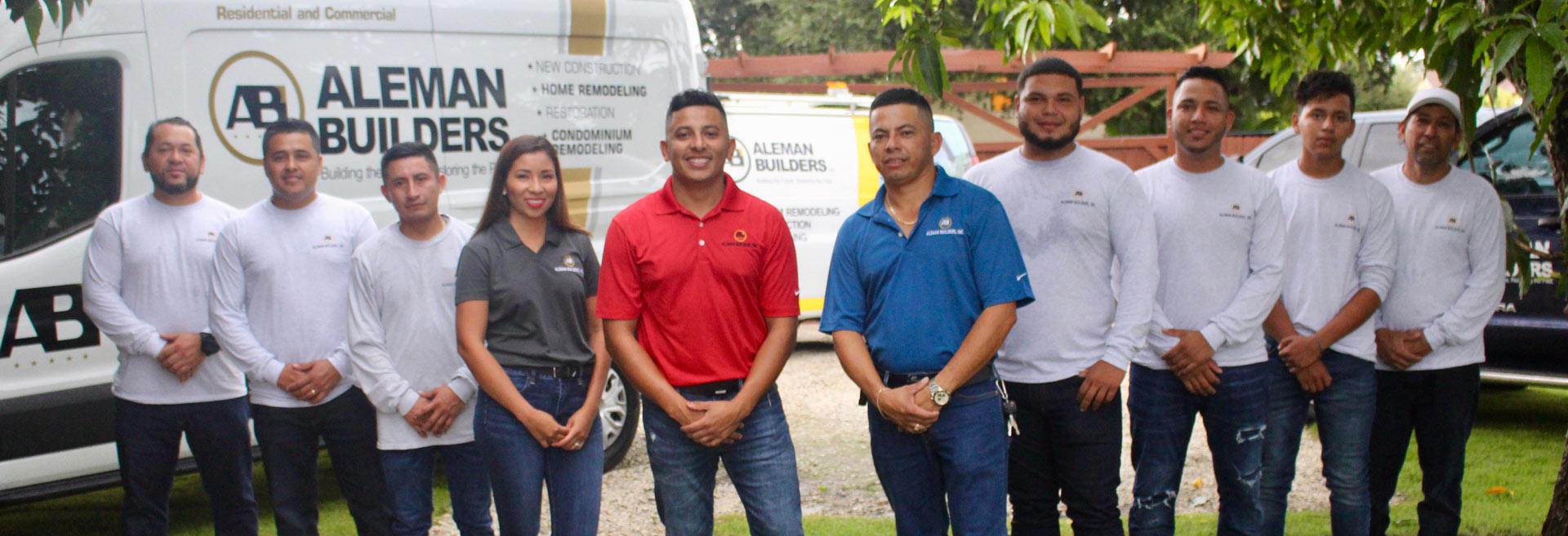 Aleman Builders Team | Naples, Florida Builders